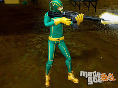 Skin Kick Ass para GTA San Andreas