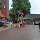 Parapluhangen Sportweek 2017 Nieuwe Pekela - Foto's Lammert Lemmen