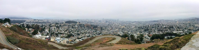 Qué ver en San Francisco. Colina de Twin Peaks.