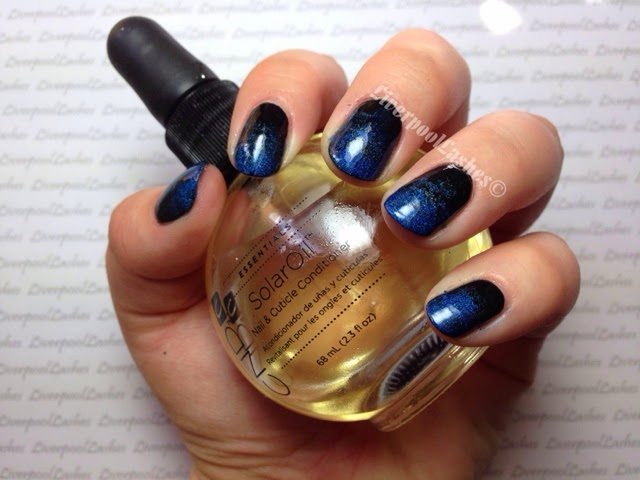 liverpoollashes liverpool lashes gradient blue black nails ombre beauty blogger scouse scouser