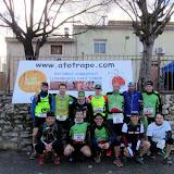 XI Carrera por montaña y marcha a pie Serra del Coto - Casas del Señor, Monóvar (7-Febrero-2016)