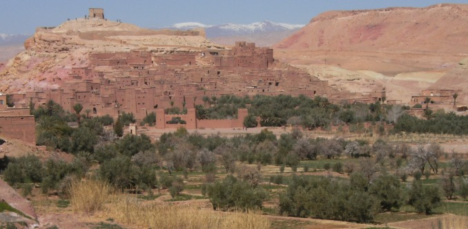 Unesco-Weltkulturerbe Ait Benhaddou