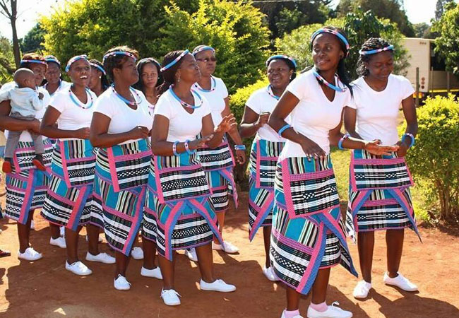 South African Traditional Dress For Black Women 2