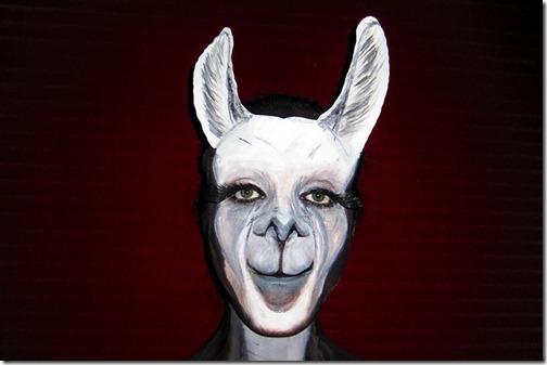 Maquillaje de laMA