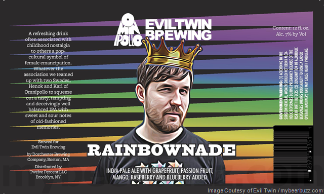 Evil Twin & Omnipollo Collaborate On Rainbownade