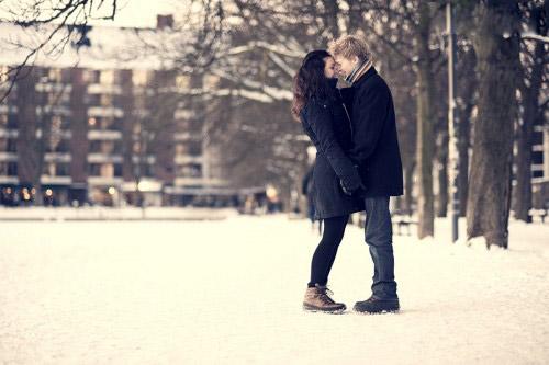 Thơ mùa đông 8 chữ viết về tình yêu