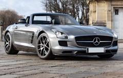 132 Mercedes SLS GT AMG roadster