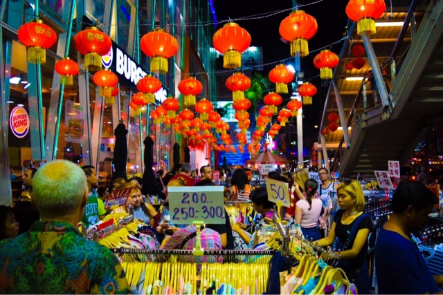 Market Shopping Bangkok Thailand