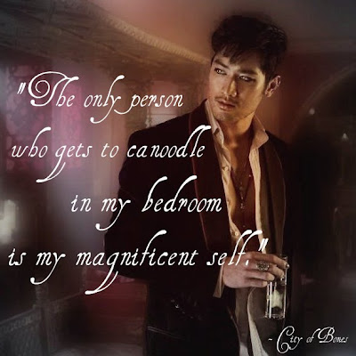 Magnus Bane Quote Picture - City of Bones (The Mortal Instruments)