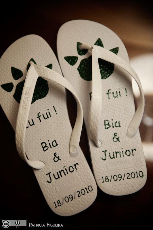 Foto de casamento 0014 de Beatriz e Delmiro. Marcações: 18/09/2010, Casamento Beatriz e Delmiro, Havaianas, Lembrancinha, Rio de Janeiro, Sandalias Ipanema.