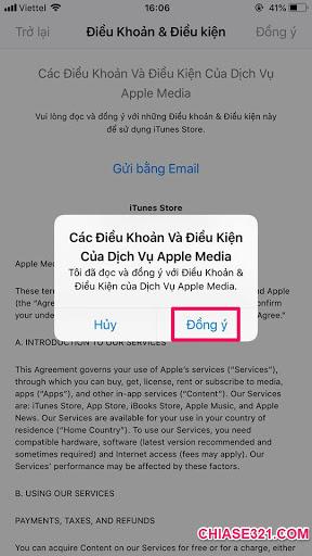 Chia sẻ cách chuyển vùng quốc gia App Store từ Việt Nam
