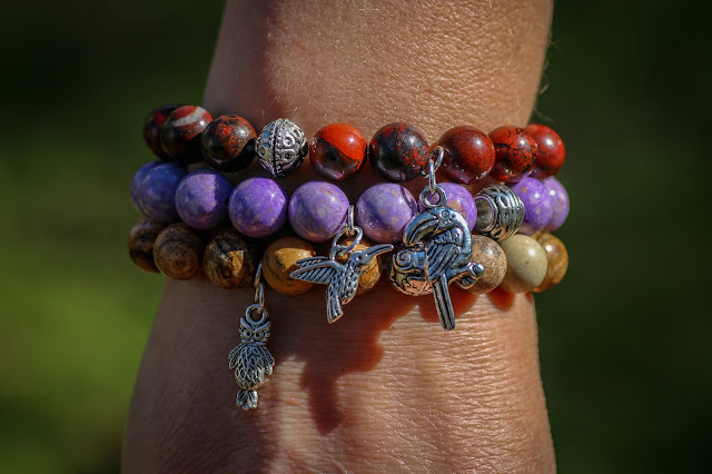 Birdwatchers collection bracelets, at Green Global Travel's Fair Trade Boutique