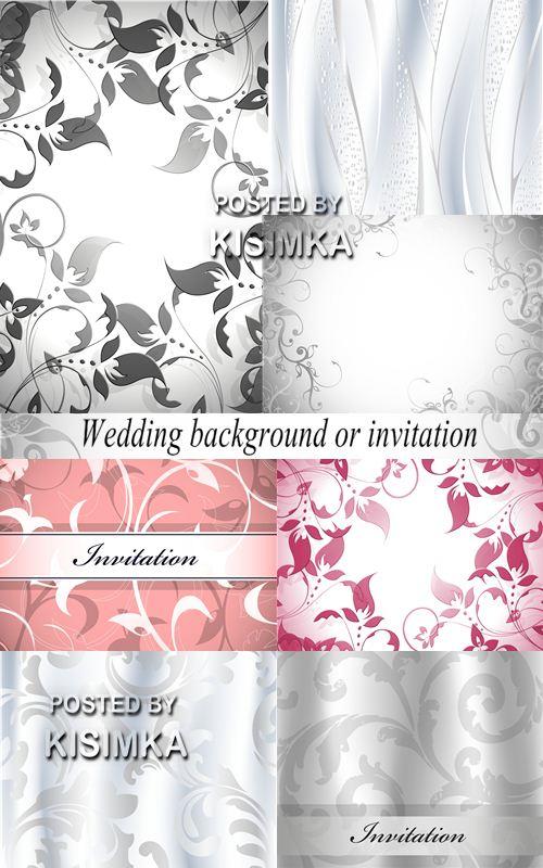 Stock Photo: Wedding background or invitation