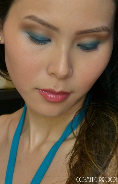 Dior Tie Dye Contraste Horizon 5 Couleurs Eyeshadow Palette Review (5)