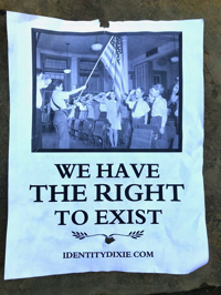 We Have A Right To Exist poster