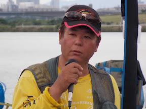 優勝・西岡博昭選手のインタビュー