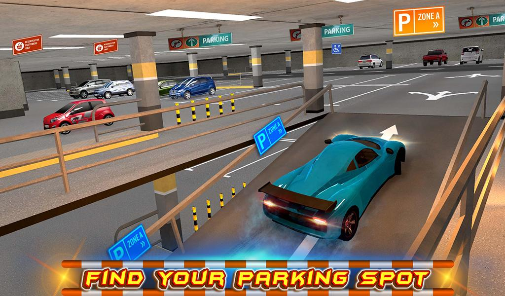 #11. Multi-storey Car Parking 3D (Android)