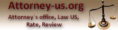 Attorney`s office, Law US, Personal Lawyer, Rates, tax