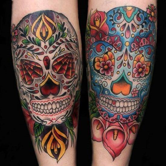 ornamentais_de_açcar_crnio_desenhos_de_tatuagem