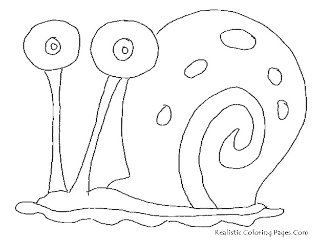 Gary Snail Coloring Page Spongebob And Gary Coloring Page Only Coloring  Pages
