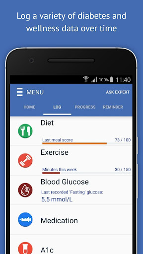 玩免費醫療APP|下載Diabetes Guide - GlucoGuide app不用錢|硬是要APP