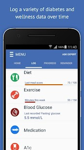 Diabetes Guide - GlucoGuide- screenshot thumbnail