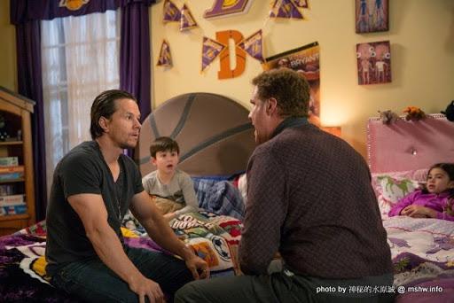 【電影】Daddy's Home 家有兩個爸 : 打腫臉也要充胖子!明爭暗鬥...得利的就是漁翁囉... 電影