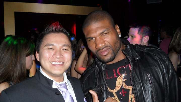 Jt Tran Pua And Rampage Jackson, Asian Playboy