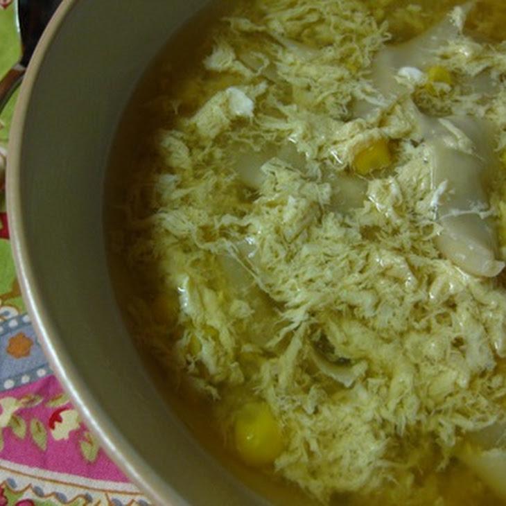 Egg Drop Wonton Soup