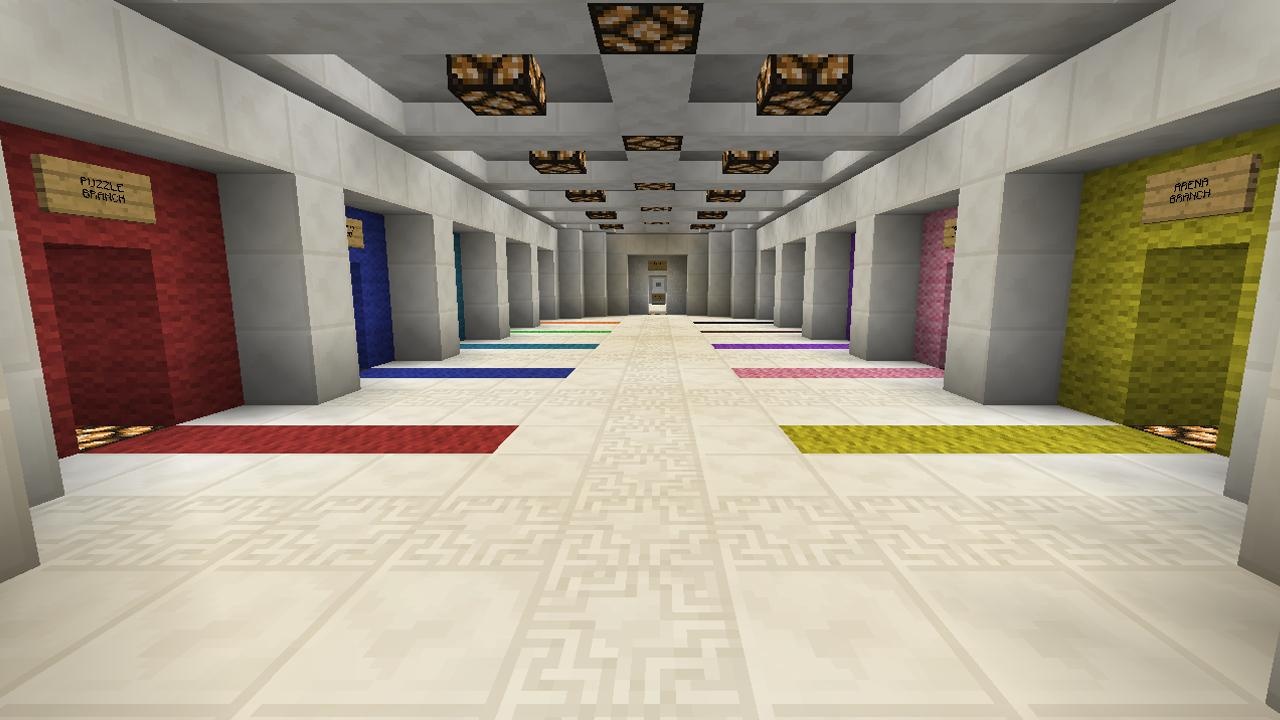 Minecraft Diversity map, Co op map