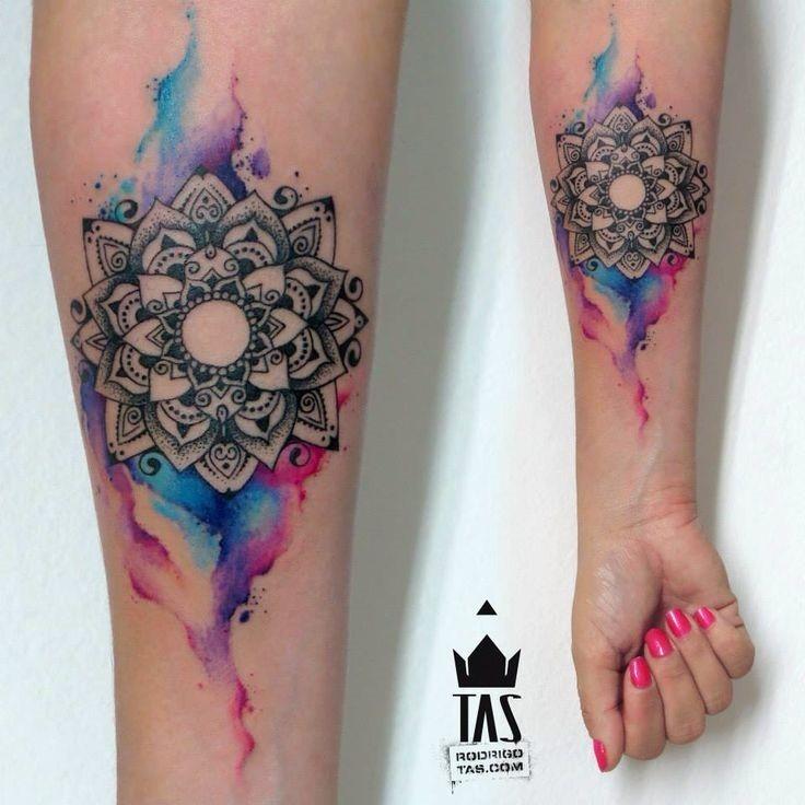 aquarela_do_lotus_antebraço_tatuagem