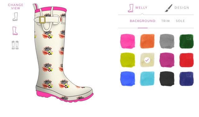 Design your own Joules welly
