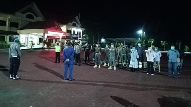 Pawas Peleton I Regu 1 Polres Bengkalis Malam Ini Kembali Gelar Operasi Gabungan KRYD