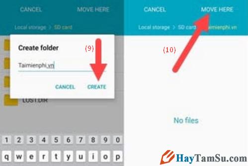 Hướng dẫn chuyển hình ảnh, video từ điện thoại Android sang thẻ nhớ SD + Hình 8