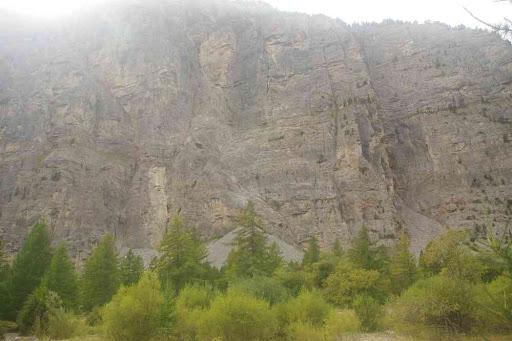 L'une des plus grandes falaises d'escalade d'Europe (qu'ils disent !)