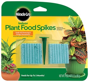 miracle gro plant spikes