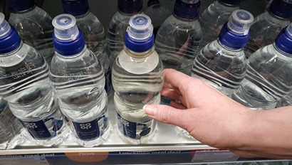 Co-op unveils 50 recycled plastic bottles for own-brand water