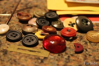 Half a button