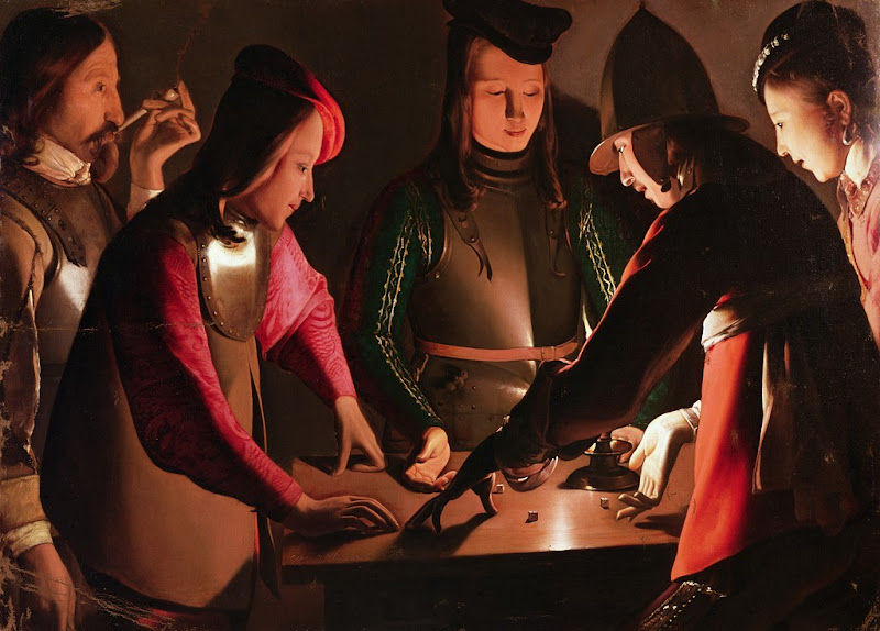 Georges de La Tour - Dice-players