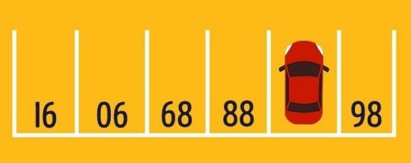 صورة و لغز - ماهو رقم الموقف الذي تتواجد فيه السيارة ؟