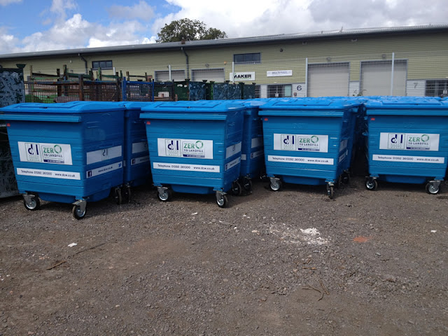 Our new ZERO to Landfill containers