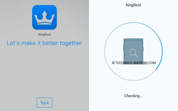 ROOT LG G3 avec KingoROOT app