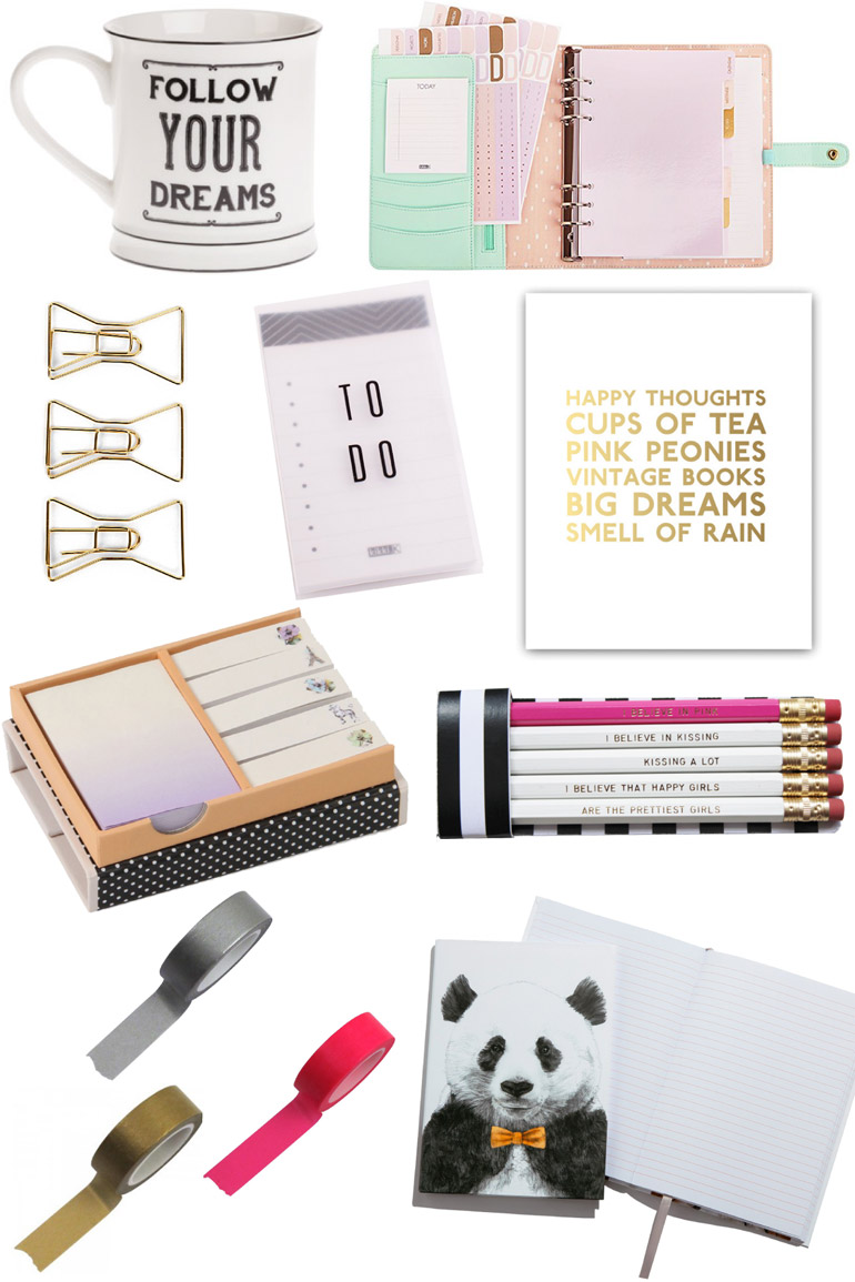 stationary high street wishlist