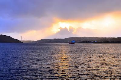 Sunset from Nordnesparken