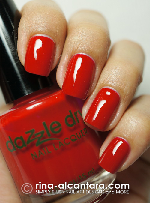 Dazzle Dry Rapid Red