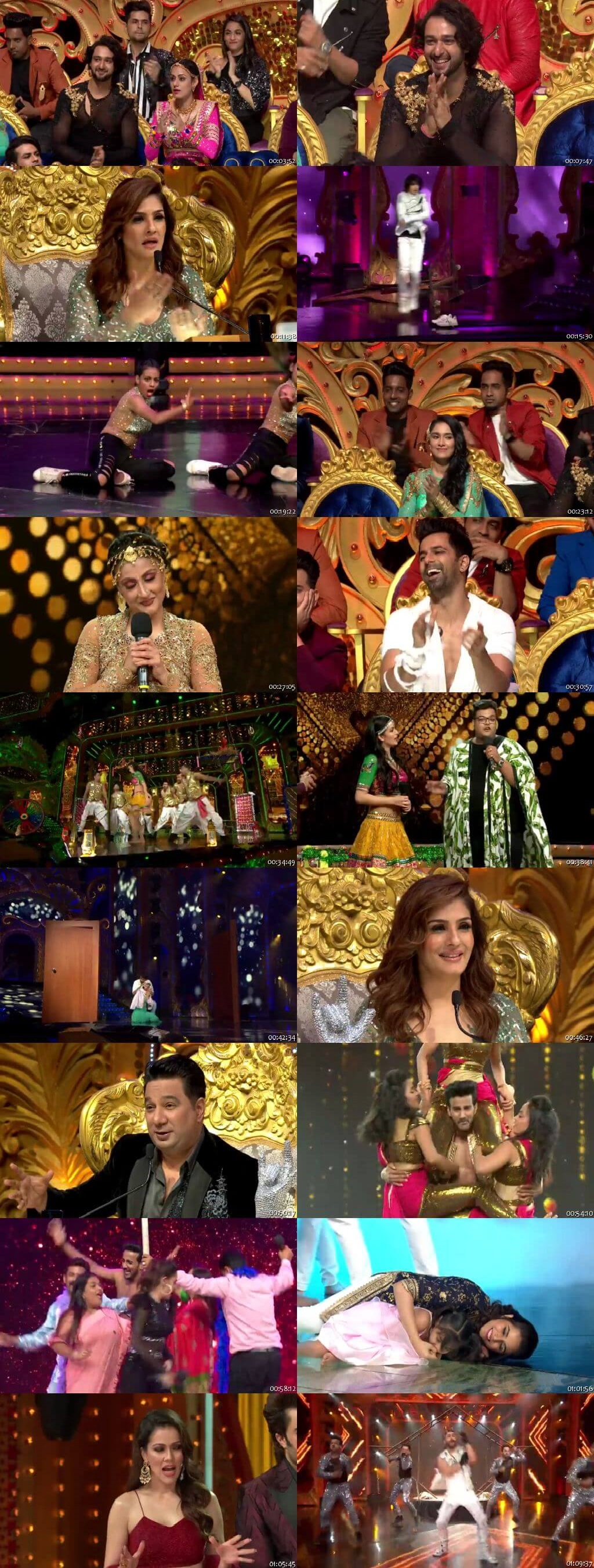 Screenshots Of Hindi Show Nach Baliye Season 9 5th October 2019 Episode 23 300MB 480P HD