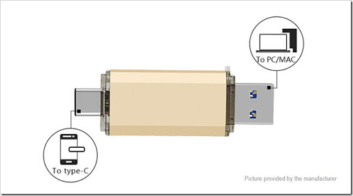 6759300 6 thumb%25255B2%25255D - 【海外】「USB 3.1 Type C/USB 3.0 OTGフラッシュドライブ (64GB)」「Fumytech Crystal/EarthBall RDTA」「アクリルワイドボアドリチ」