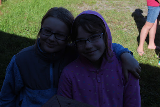 Juliana and one of her best friend, Raiya.