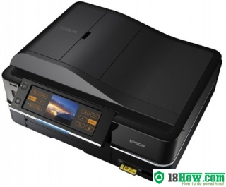 How to reset flashing lights for Epson PX810FW printer