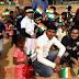 बच्चों को झंडे-जलेबियाँ बाँट मिलेनियम स्टार ने मनाया गणतंत्र दिवस
